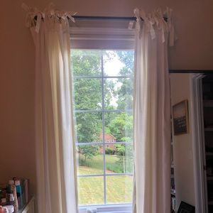 6 Pottery Barn curtains